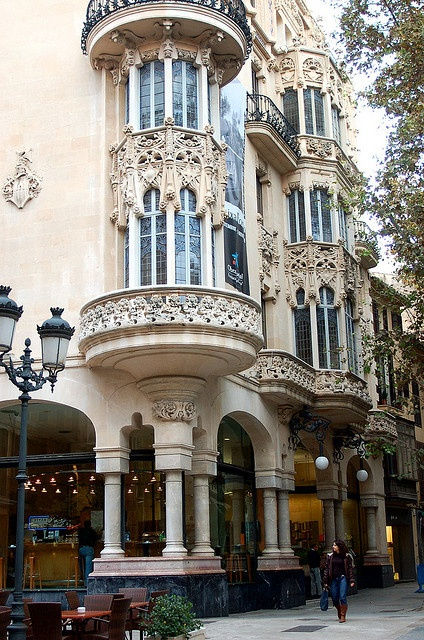 Art-Nouveau architecture in Palma de Mallorca, Spain