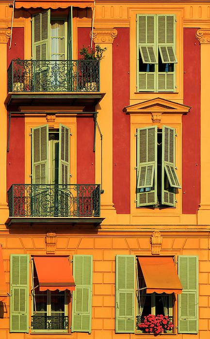 French windows in Nice april 26 2014
