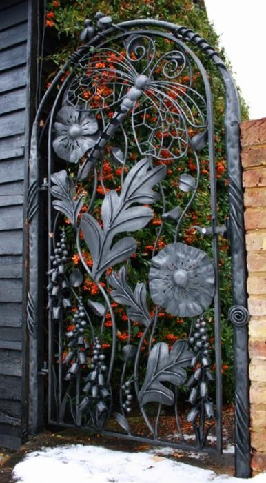 Ornamental gate by Bex Simon