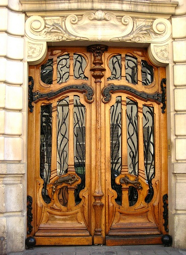 Paris. Beautiful art nouveau design 2