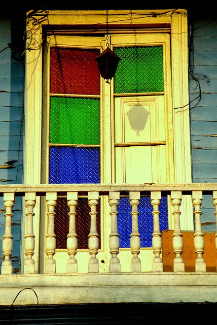 old colorful doors