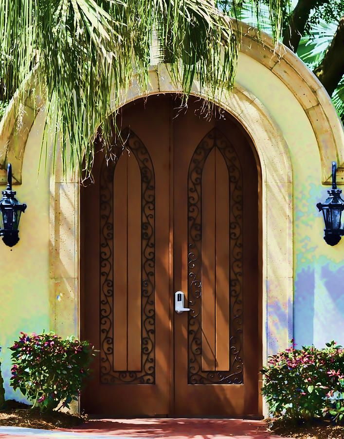 Tropical Door (By Sandy Poore)